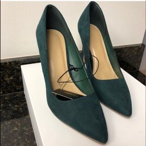 Forever 21 Emerald Green Stiletto